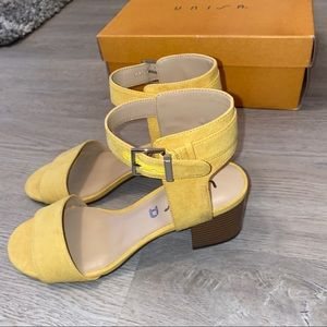 Marshall's Yellow Sandals/Wedges